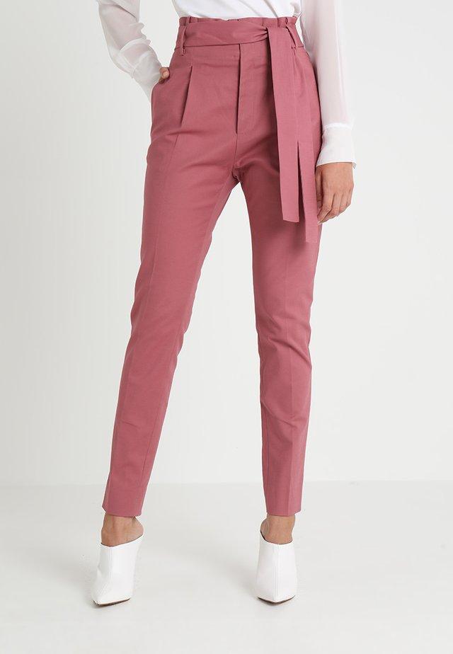 BASIC LONG - Pantaloni - mesa rose