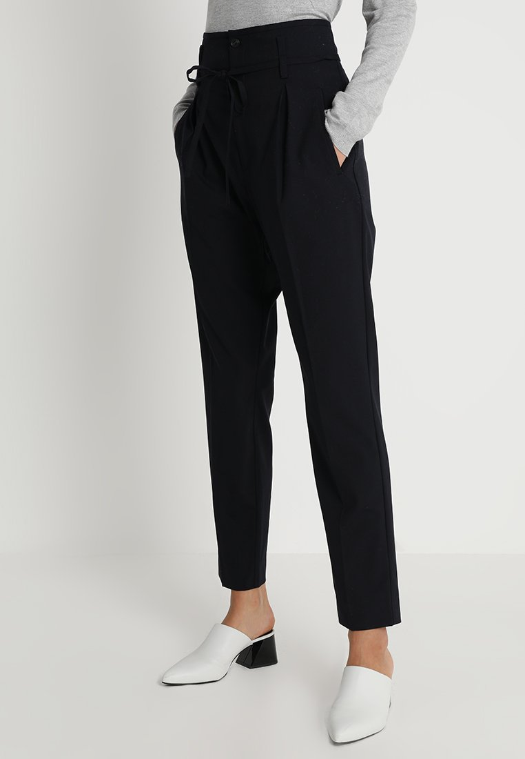 Noa Noa - FINE SUITING - Trousers - black