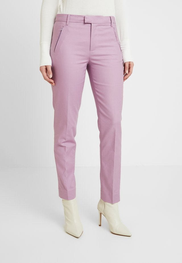 BASIC  - Trousers - lavender herb