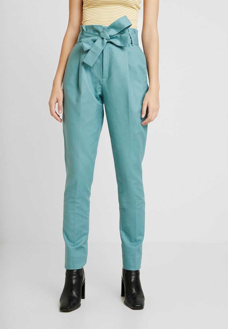 Noa Noa - ESSENTIAL STRETCH - Trousers - arctic