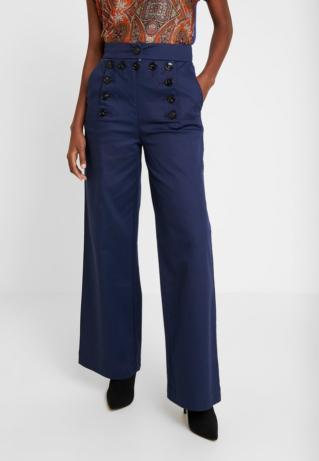 SAILOR PANTS - Pantalon classique - peacoat