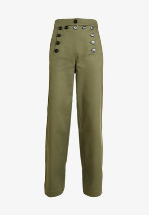 SAILOR PANTS - Trousers - winter moss