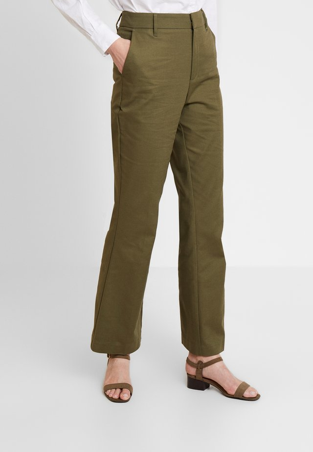 ESSENTIAL - Trousers - winter moss