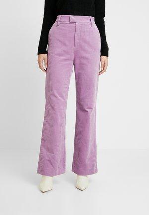 Spodnie materiałowe - lavender herb