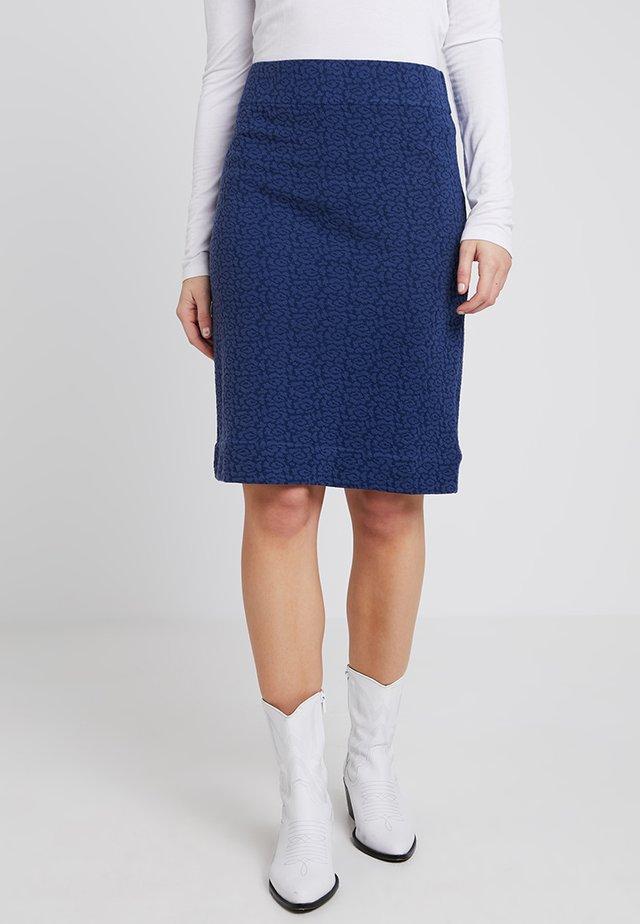 STRUCTURE - A-line skirt - blueprint