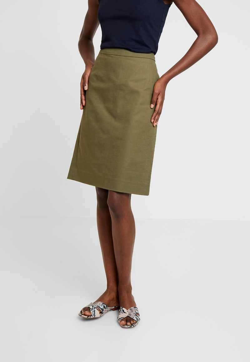 Noa Noa - ESSENTIAL - Pencil skirt - winter moss