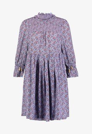 RECYCLED GEORGETTE - Robe d'été - blue
