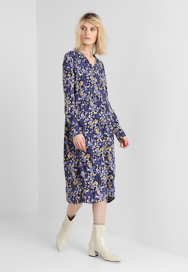 FLORAL MOSS - Day dress - blue