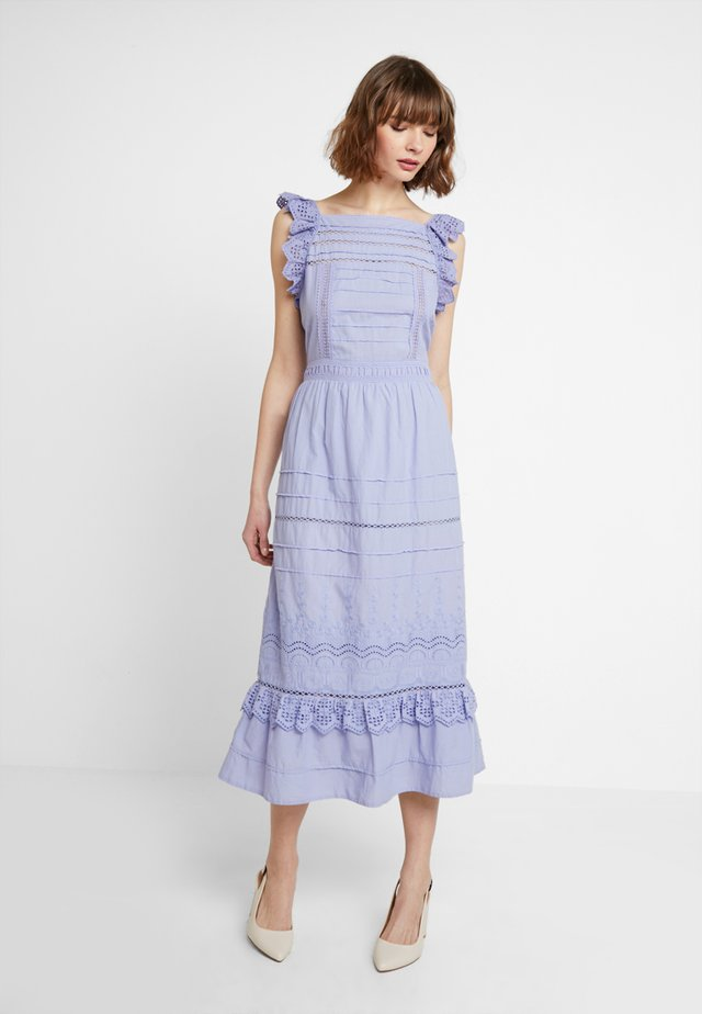 BRODERIE ANGLAISE - Maxi dress - thistle down