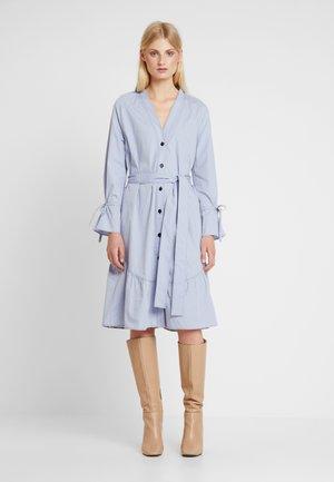POPLIN - Robe chemise - zen blue