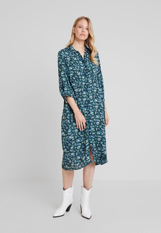 SOFT MOSS - Shirt dress - green