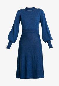 Noa Noa - Robe pull - blue melange - 4