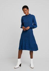 Noa Noa - Robe pull - blue melange - 2