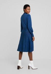 Noa Noa - Robe pull - blue melange - 3