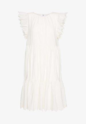 Jersey dress - white asparagus
