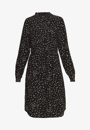 AIR MOSS - Robe chemise - black
