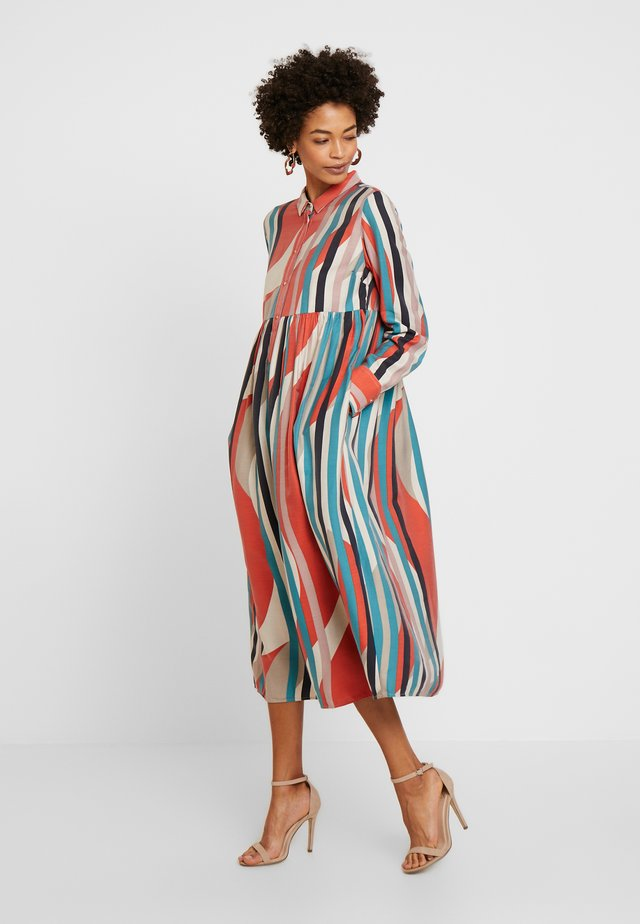 EASE - Blousejurk - red