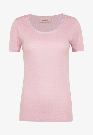 BASIC NEW - Print T-shirt - dawn pink