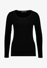 Noa Noa - BASIC - Långärmad tröja - black - 3