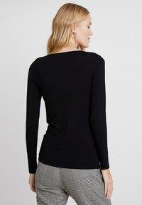 Noa Noa - BASIC - Långärmad tröja - black - 2