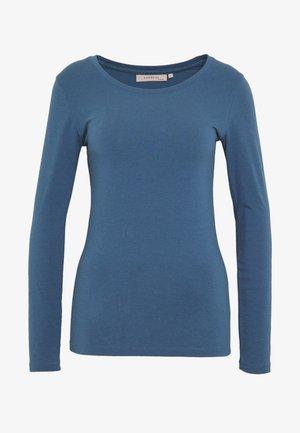 ESSENTIAL COTTON STRETCH - Topper langermet - ensign blue