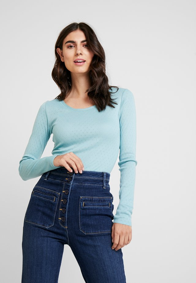 ESSENTIAL NEW  - Long sleeved top - cameo blue