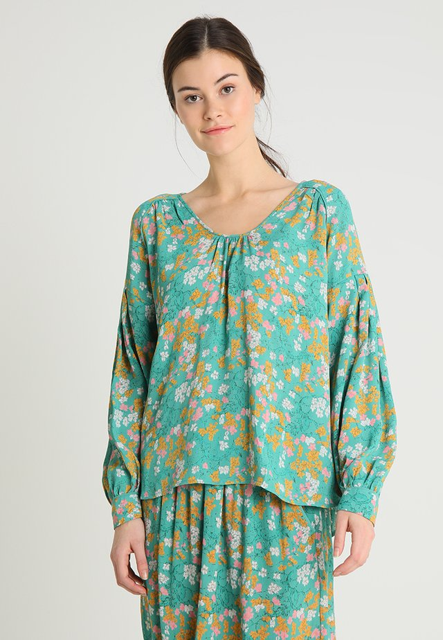 FLORAL MOSS - Tunic - green