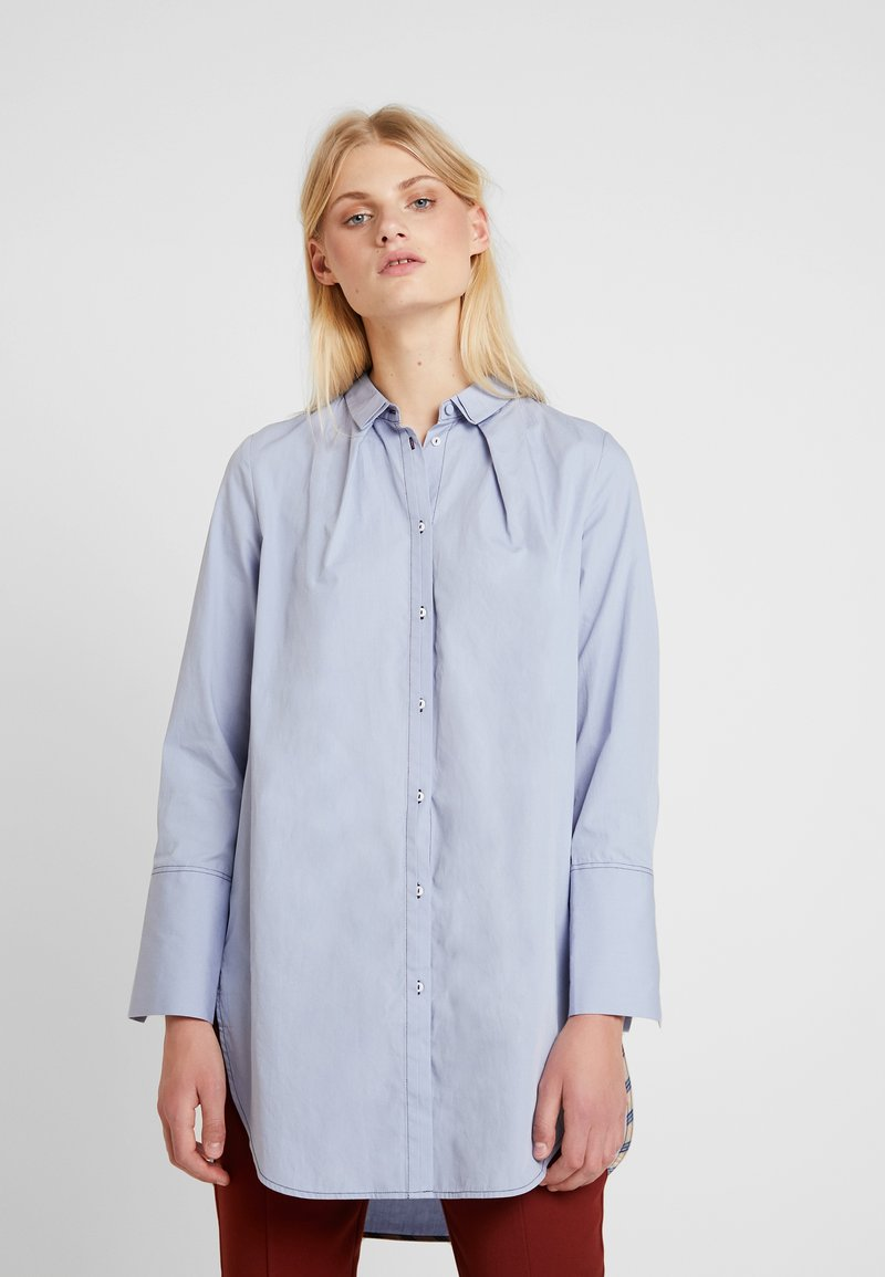 Noa Noa - ORGANIC - Button-down blouse - zen blue