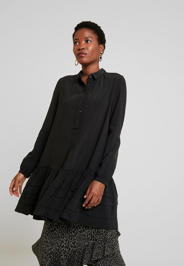 TUNIC LONG SLEEVE - Tunika - black