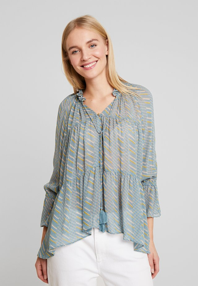 LIGHT GEORGETTE - Tunic - teal