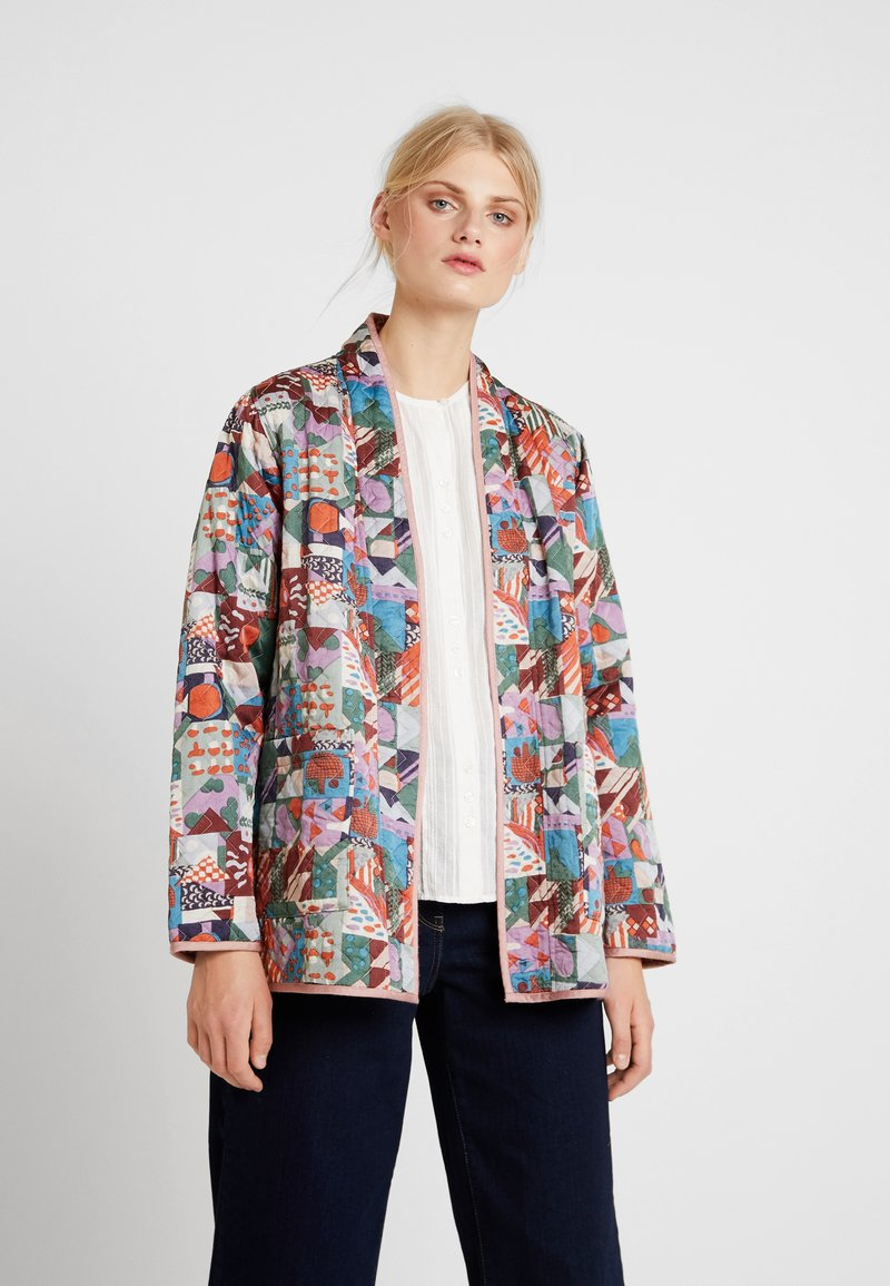 Noa Noa - QUILTED JACKET - Leichte Jacke - multicoloured