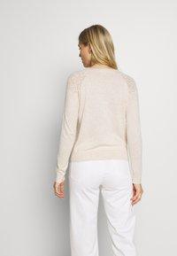 Noa Noa - BASIC - Vest - light beige melange - 2