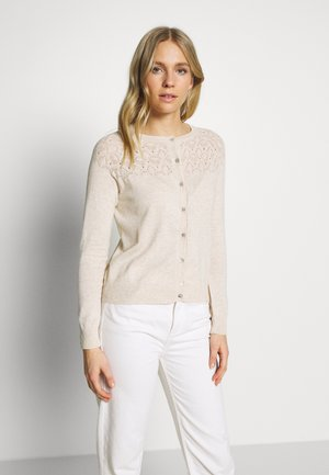 BASIC - Cardigan - light beige melange