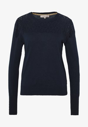 ESSENTIAL - Strickpullover - dress blues