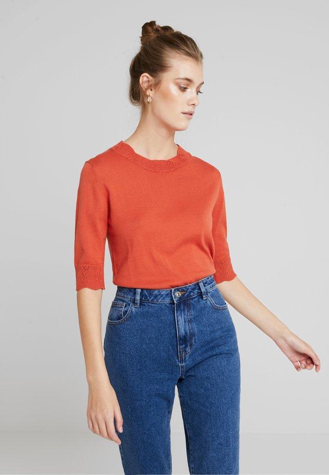 BASIC - T-Shirt basic - mecca orange