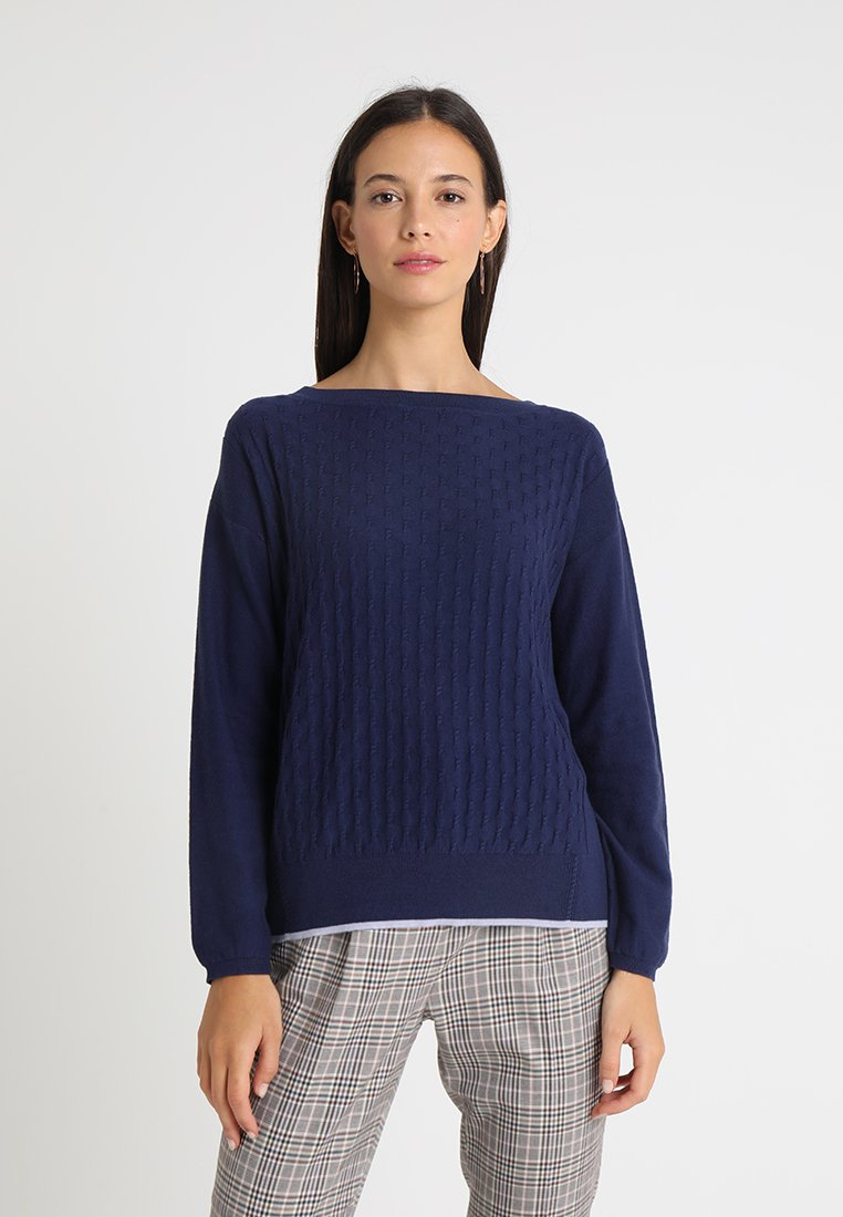 Noa Noa - Strickpullover - patriot blue