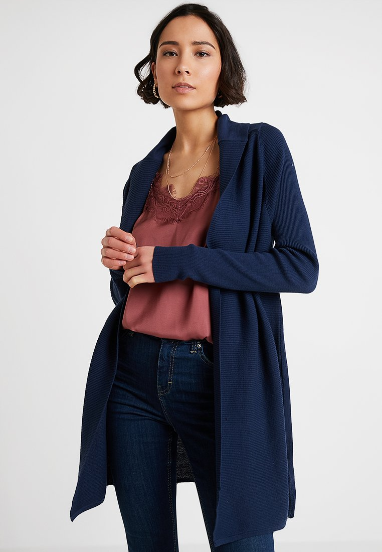 Noa Noa - BASIC - Cardigan - dress blues