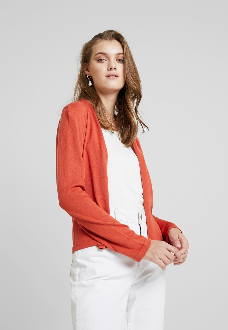 Noa Noa - BASIC - Strickjacke - mecca orange