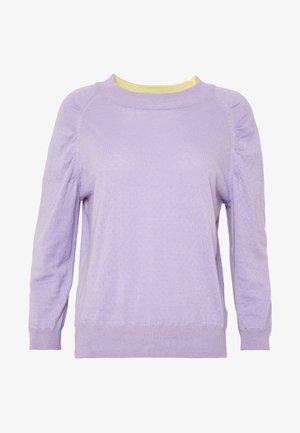 ORGANIC - Strickpullover - heirloom lilac