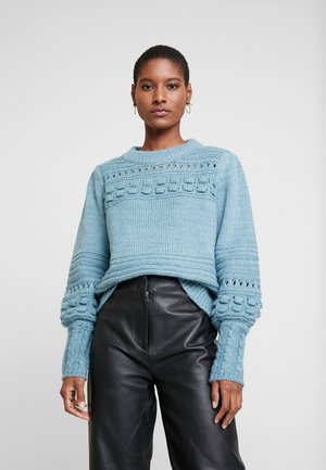 COLOURING - Jumper - cameo blue