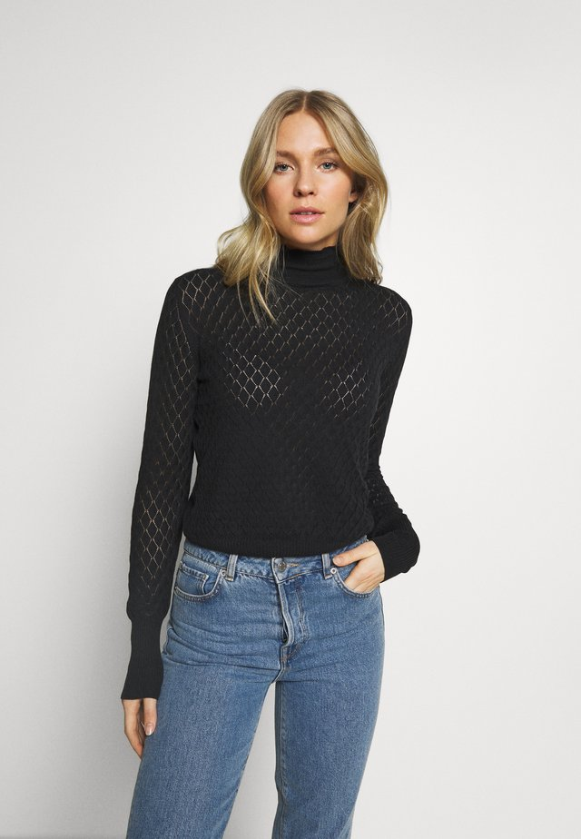 ORGANIC - Jumper - black