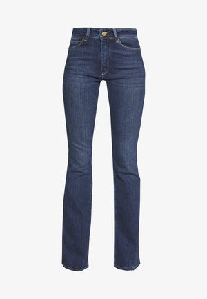 ESSENTIAL STRETCH - Flared jeans - dark blue