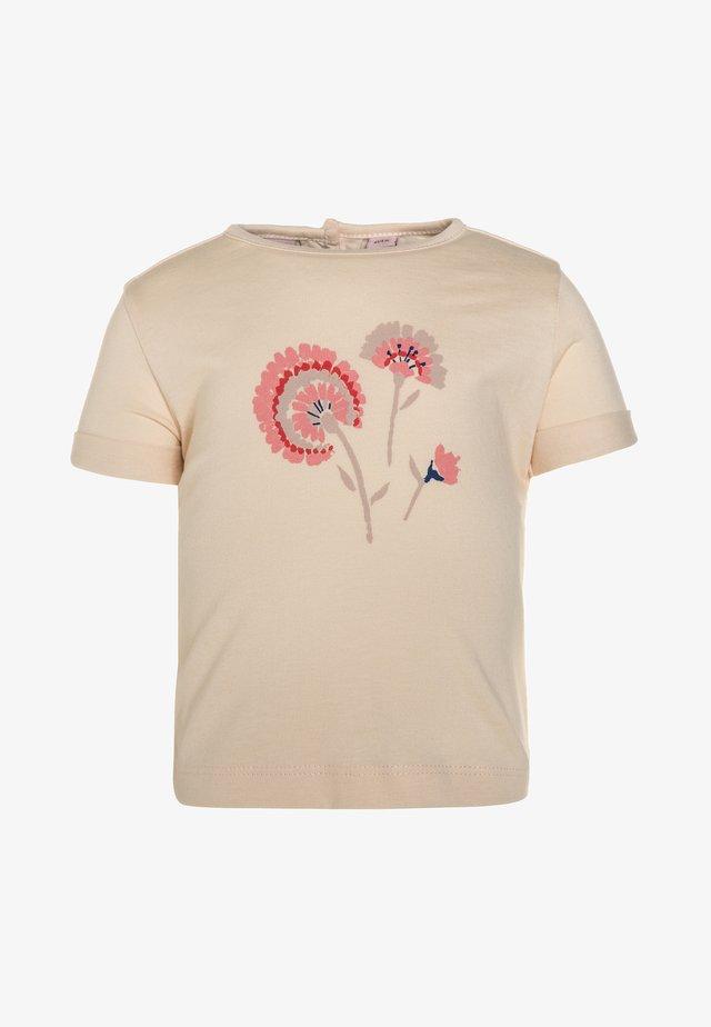 BABY CYANEA - T-shirt con stampa - vanilla cream