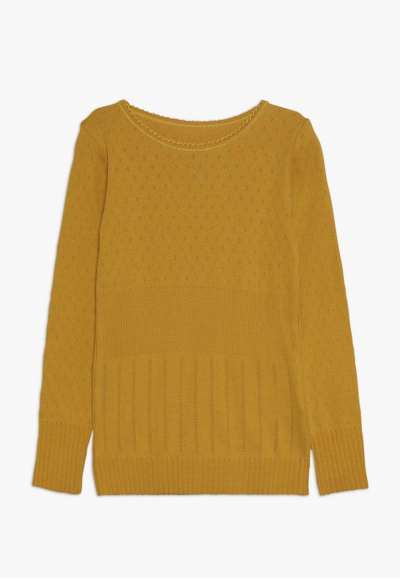 Noa Noa - MINI BASIC DORIA LONG SLEEVE - T-shirt à manches longues - golden yellow