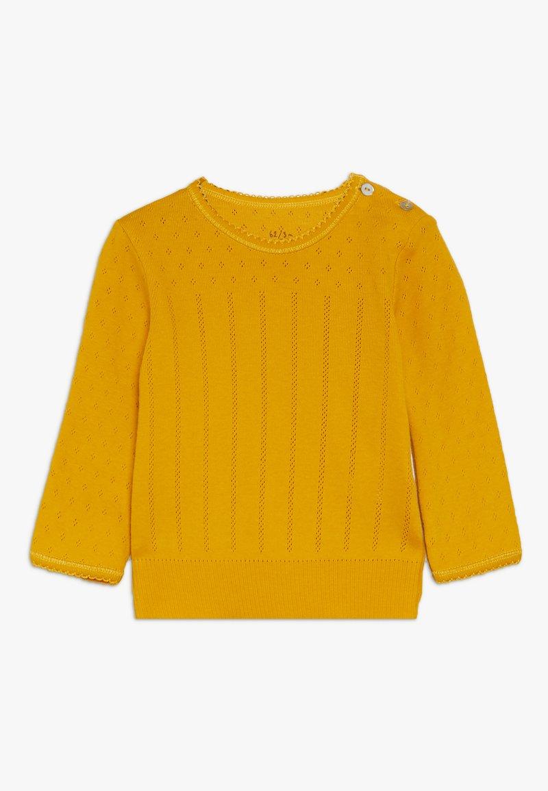 Noa Noa - BABY BASIC DORIA  - Long sleeved top - golden yellow