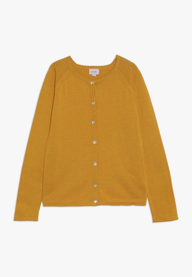 Noa Noa - MINI BASIC LIGHT LONG SLEEVE - Strickjacke - golden yellow