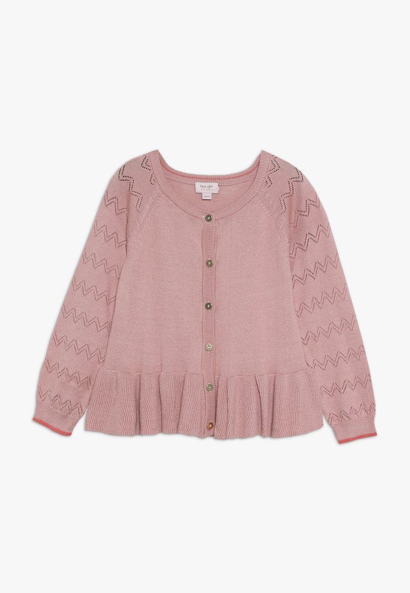 Noa Noa - MINI GLOBAL LONG SLEEVE - Cardigan - peach beige
