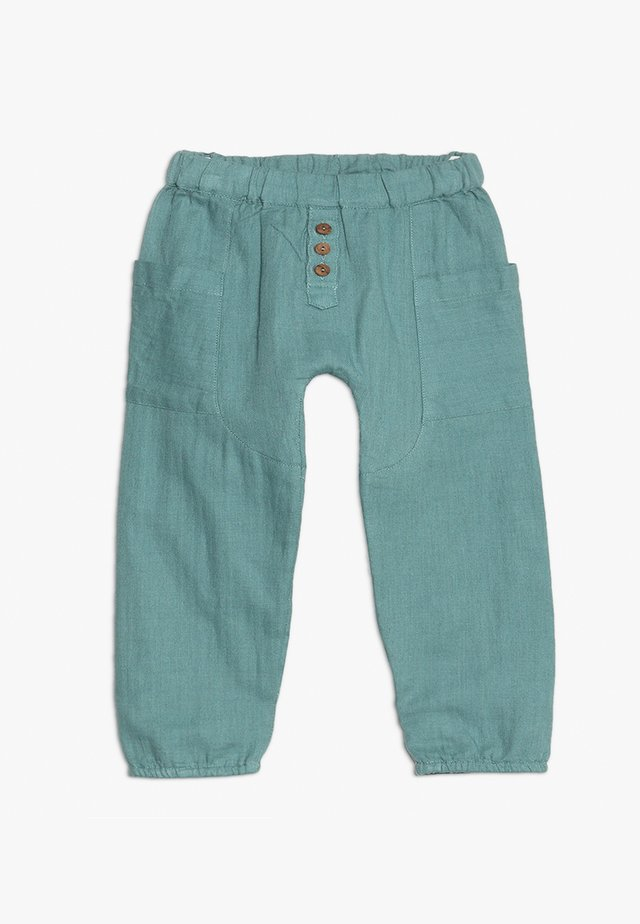 BOY COCOON - Stoffhose - mineral blue
