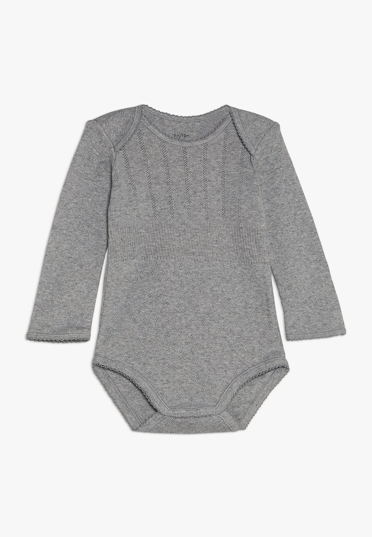Noa Noa - BASIC BABY - Body - grey melange
