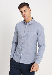 NN07 - LEON - Overhemd - blue - 0